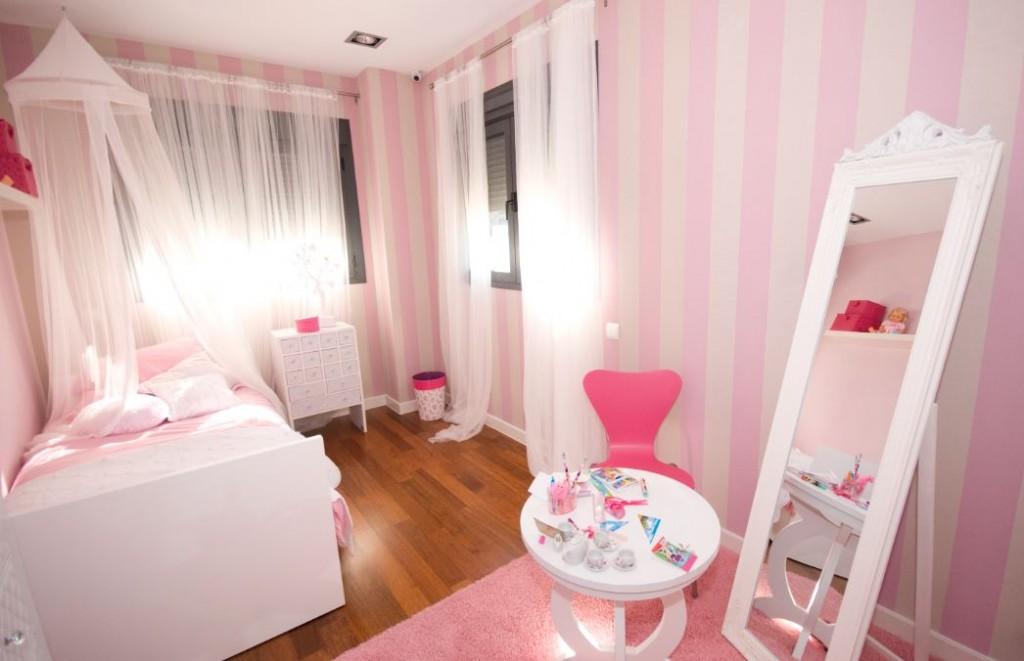Habitación princesas_Residencial Célere Puerta del Retiro