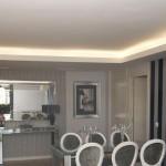 Luz perimetral para estancias más acogedoras