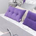 Cojines, el complemento perfecto para la cama