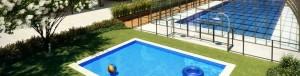 Residencial Célere Puerta del Retiro piscinas césped