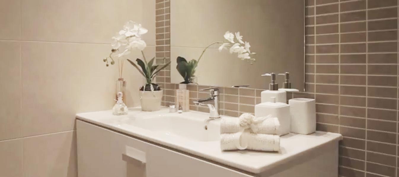 Baños Modernos Revestimientos:Revestimientos porcelánicos, una elección perfecta – El blog de Via