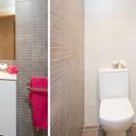 Baños con dos estancias