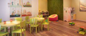 sala infantil niños-Vía Célere