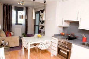 cocina y salón-Vía Célere