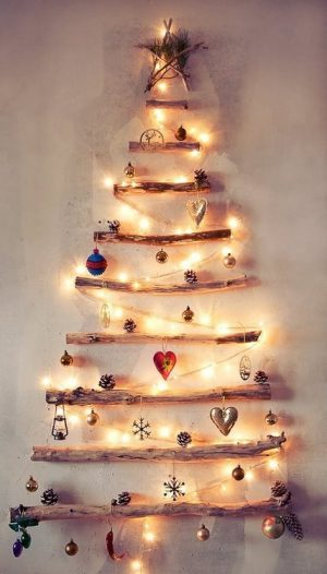 árbol de navidad madera