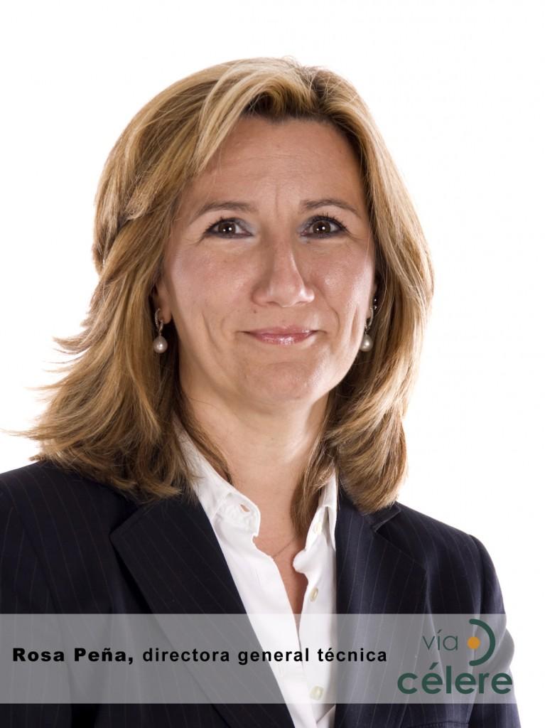 Rosa Peña, directora general técnica