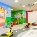 Sala infantil dentro del residencial