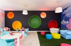 Sala entretenimiento colores