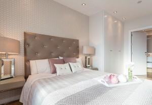 cabeceros y habitaciones románticos