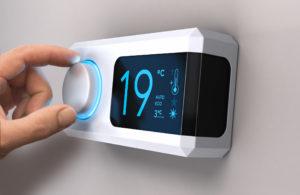 Termoestato control temperatura