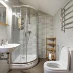 10 Ideas para aprovechar el espacio en baños pequeños