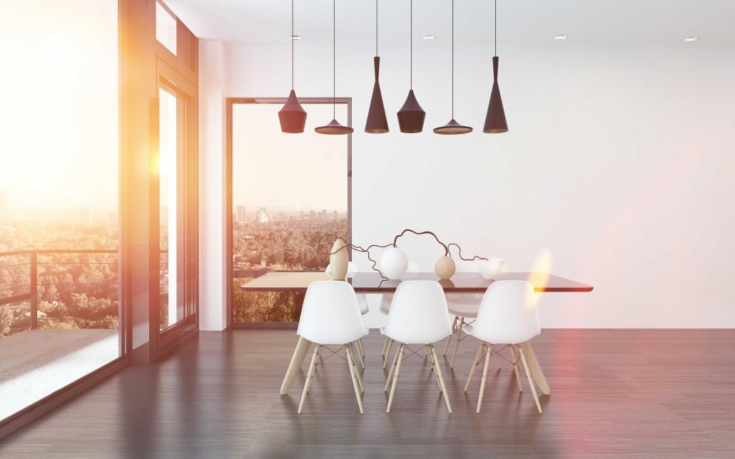 Lámparas de diseño para decorar el comedor