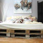 ¿Te atreves a hacer una cama con palets?