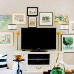 Crea una galería de cuadros en casa