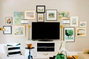 Galería de cuadros en casa