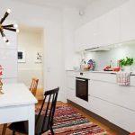 Diseño de cocinas: Poner una alfombra, ¿sí o no?