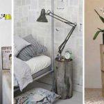Diseño de dormitorios: Convierte objetos de casa en mesilla de noche