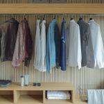 Mi ropa en su sitio: vestidores abiertos