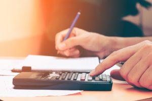 Calculadora números finanzas