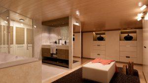 vestidor con baño