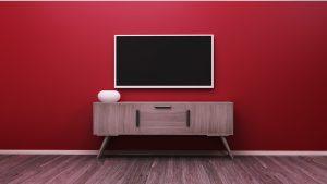 altura tv pared