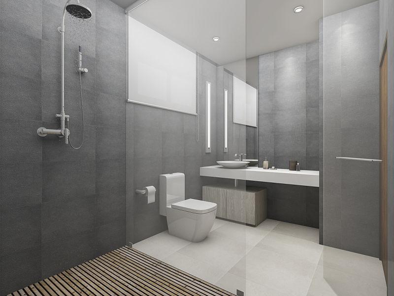 Duchas modernas casas que innovan tu vida for Modelos de duchas modernas