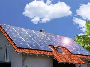 Paneles solares en tu casa