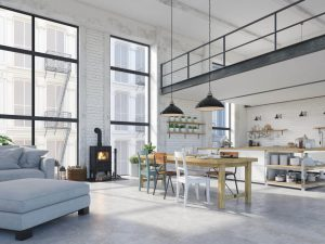 Tipos de viviendas loft