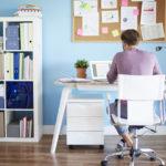 Escritorio blanco: elige cómo decorar