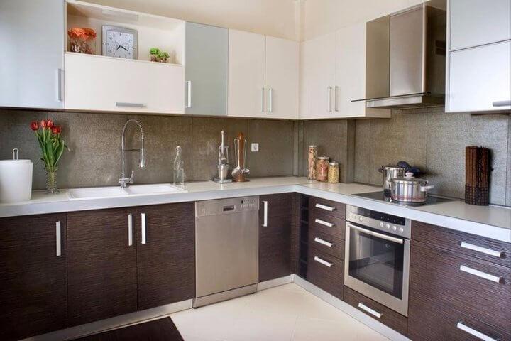 Cocinas peque as en l casas que innovan tu vida - Cocinas en l ...