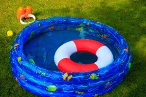 piscina hinchable para niños