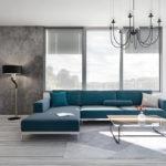 La combinación de colores perfecta para un salón minimalista