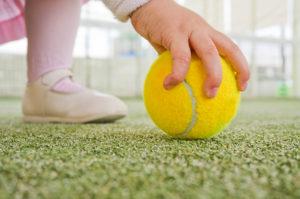 pista de padel tenis pelota