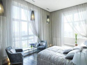 habitación con ventana