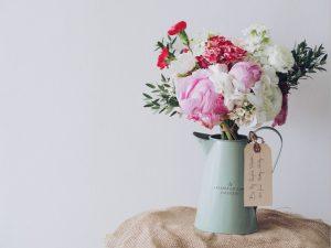 decoración flores-Vía Célere