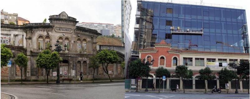 restauración de edificio metalurgica