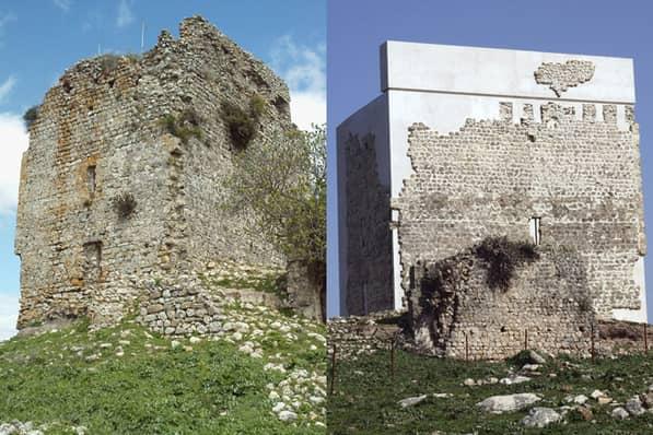 restauración de edificio castillo