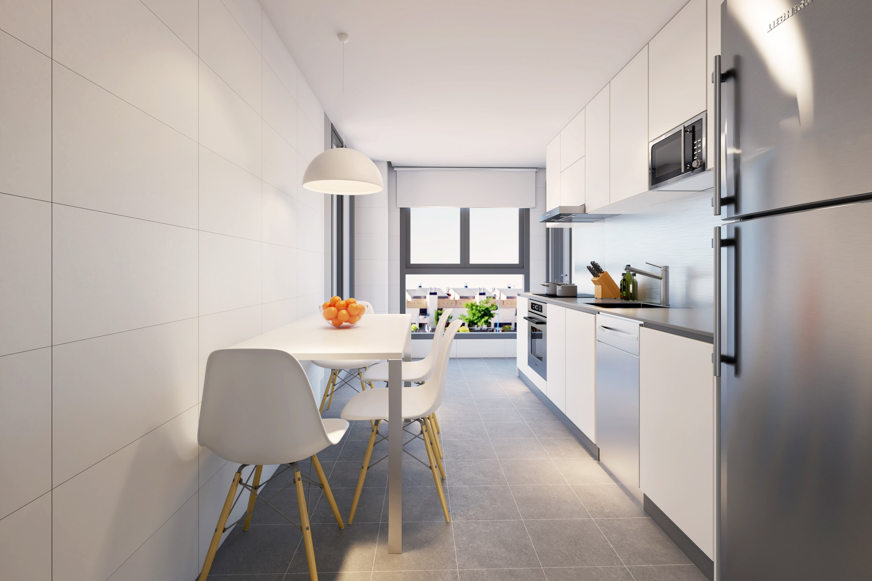 Promoci n legan s pisos obra nueva en madrid for Pisos baratos en leganes