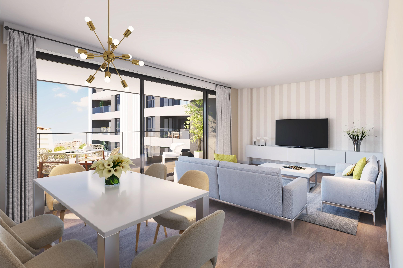 Promoci n legan s pisos obra nueva en madrid for Piscina solagua leganes