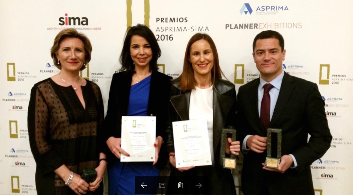 Premios asprima sima 2016