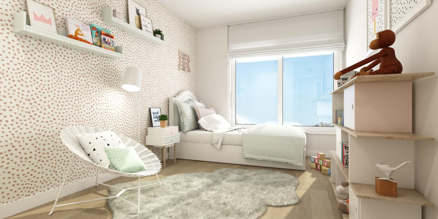 obra nueva celere castelo dormitorio