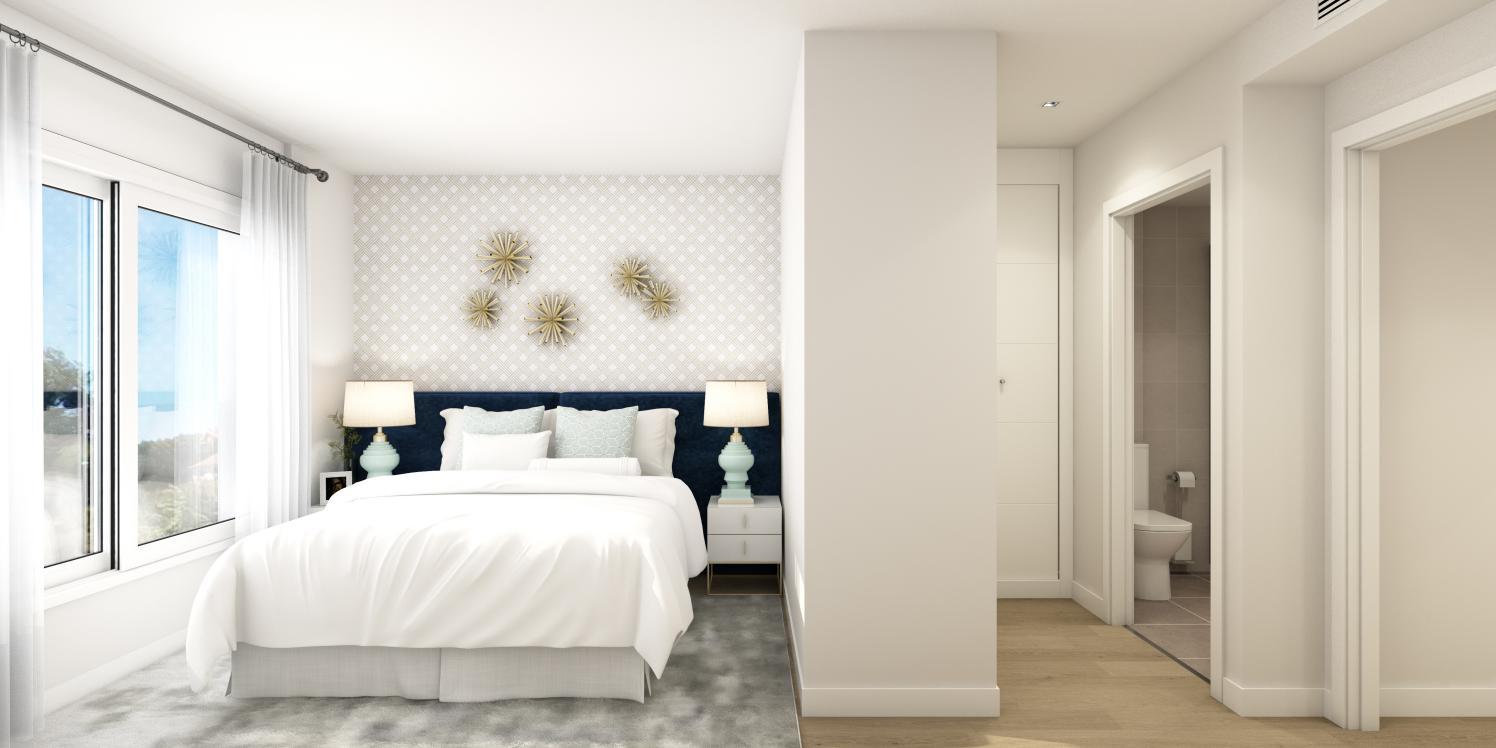 obra nueva celere castelo dormitorio principal