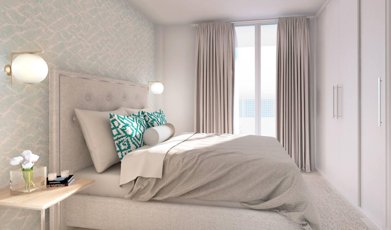 celere casa banderas dormitorio