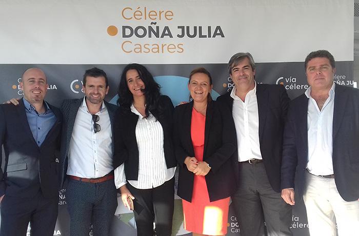 Via Celere presentación residencial Célere Doña Julia