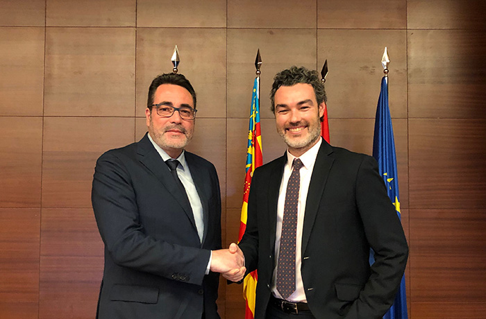 via celere sign agreement upv