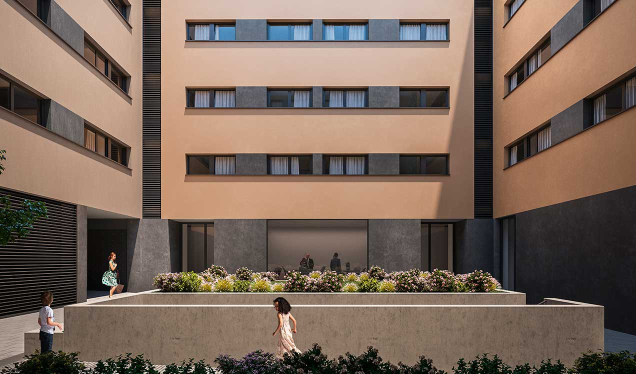 New Build Flats Barcelona Celere ARTS