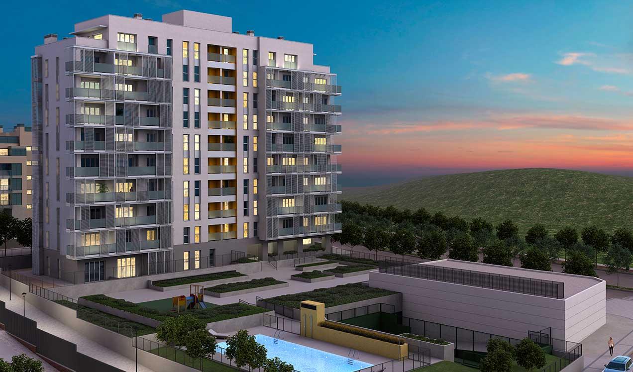 New build in Tres cantos Célere Elva