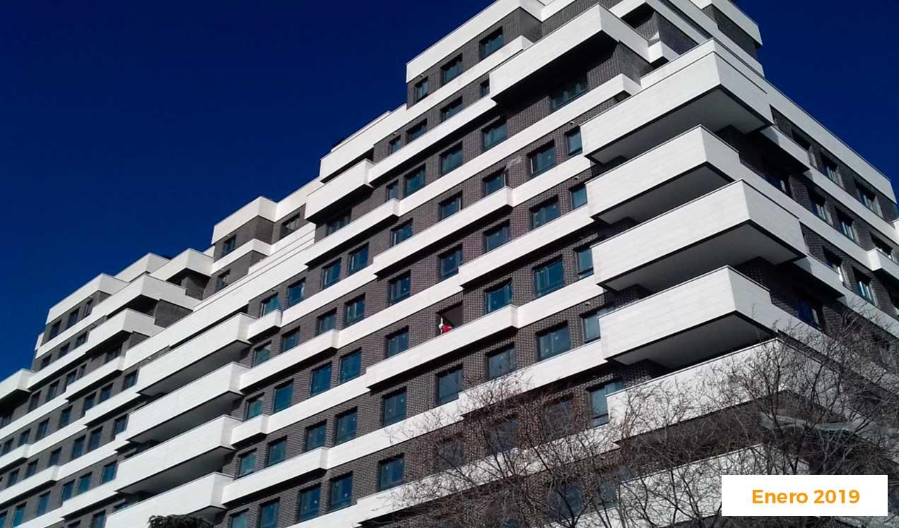 Promoción de pisos de obra nueva en Madrid