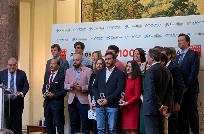 via celere recoge el premio a las 100 mejores ideas