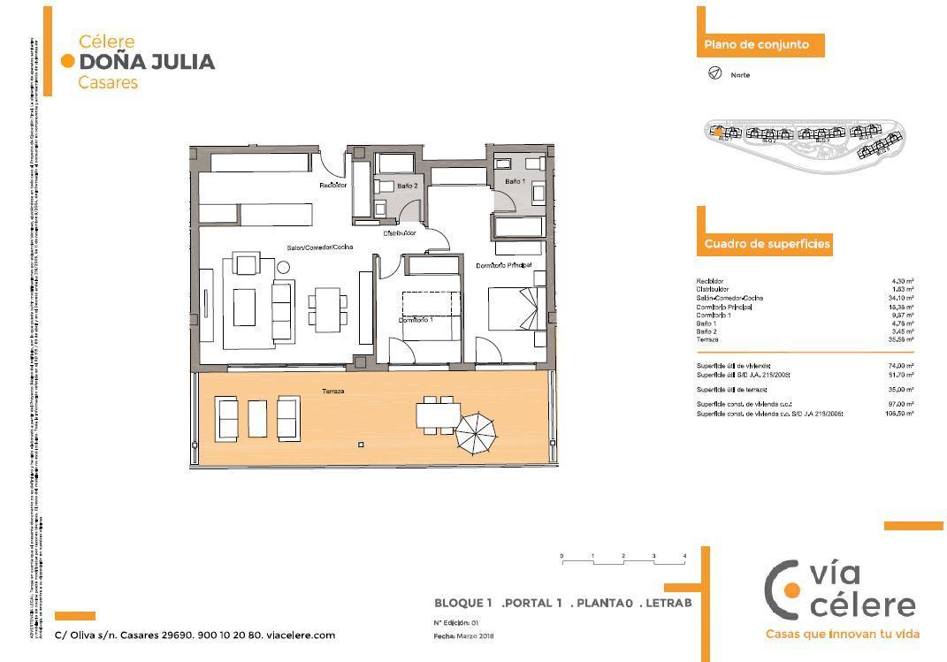 Viviendas de obra nueva en Málaga   Promoción Célere Doña Julia